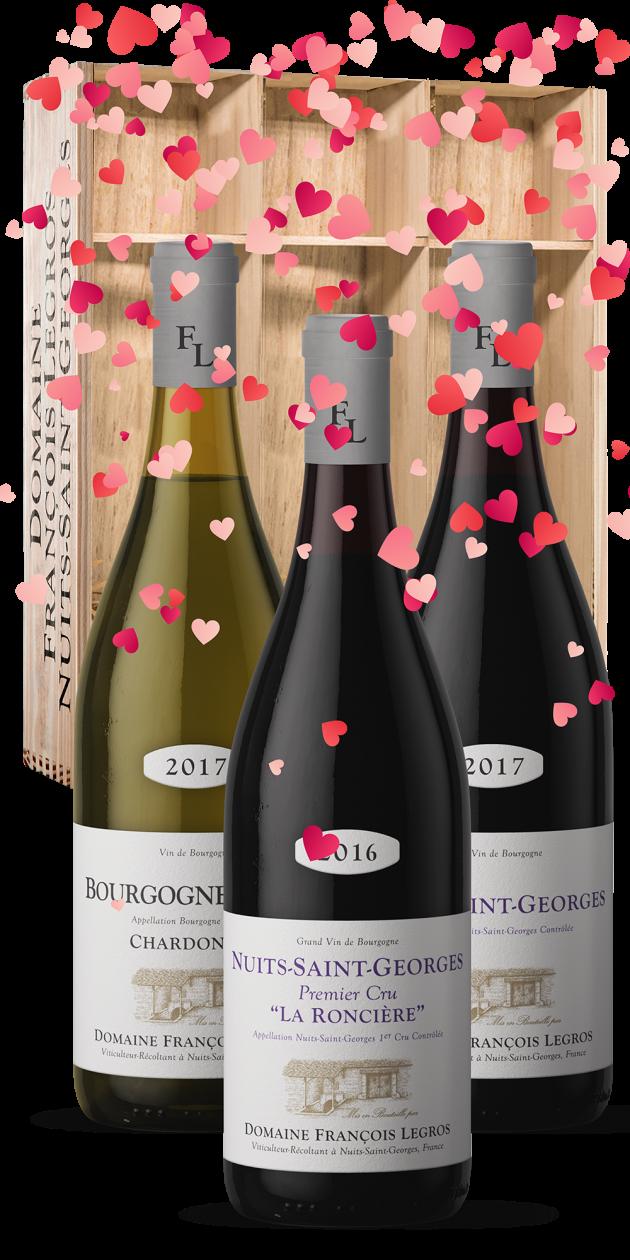 cadeau saint valentin vins domaine francois legros